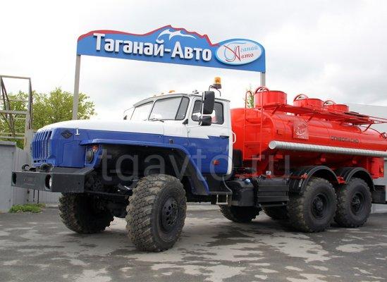 Автотопливозаправщик АТЗ-7,5/3 Урал-5557 купить от производителя