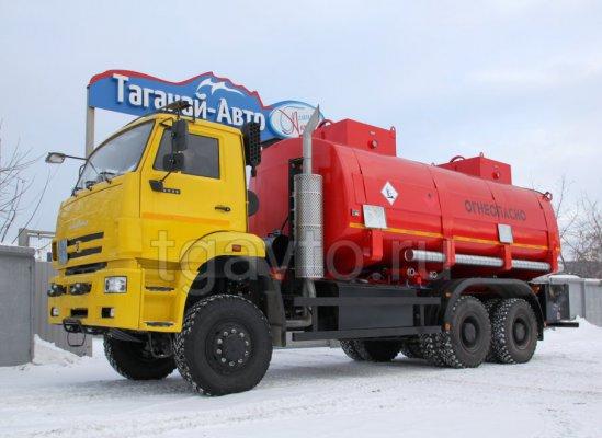 Автотопливозаправщик АТЗ-20 Камаз 6522 купить от производителя