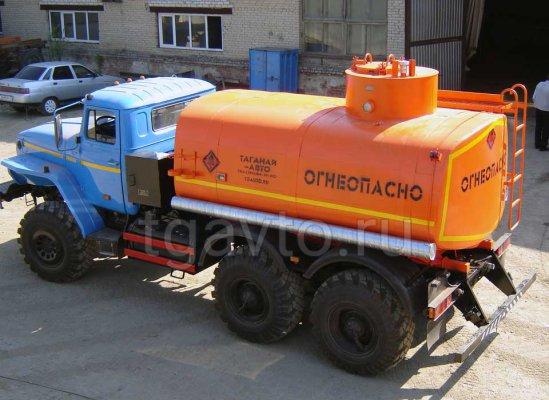 Автотопливозаправщик АТЗ-9 Урал 4320