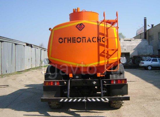 Автотопливозаправщик АТЗ-9 Урал 5557 купить от производителя