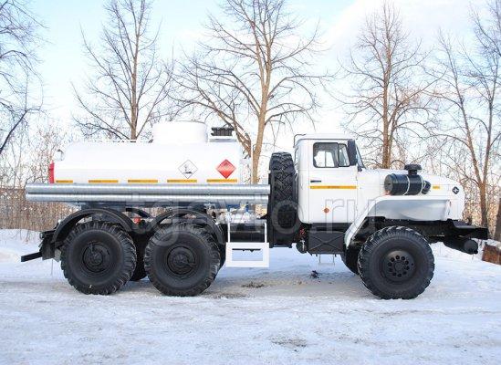 Автотопливозаправщик АТЗ-6,5 Урал 4320 купить от производителя