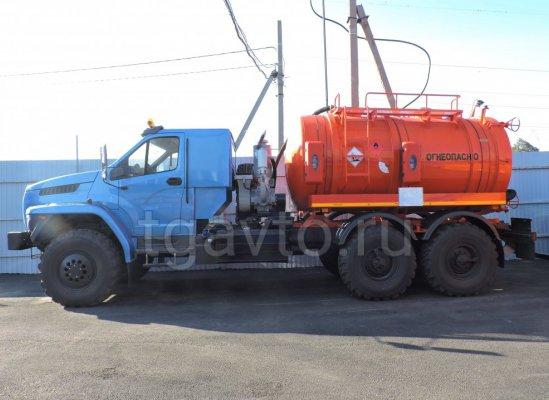 Вакуумная автоцистерна АКН-12-ОД Урал NEXT 4320-72E5 купить от производителя