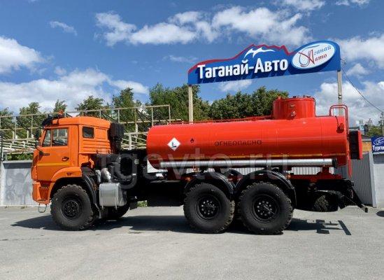 Автотопливозаправщик АТЗ-10 Камаз 43118 (УВТ за кабиной) купить от производителя