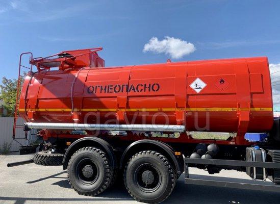 Автоцистерна нефтепромысловая АЦН-22 КАМАЗ 6522 купить от производителя
