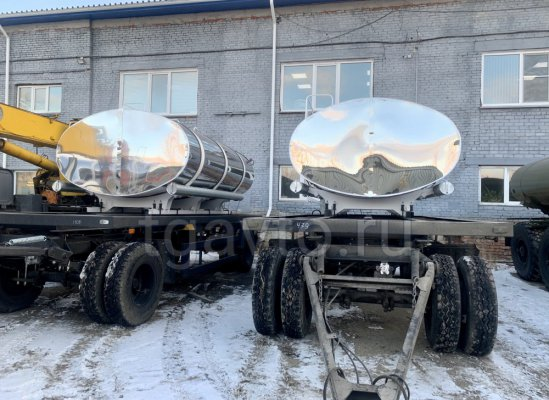 Прицеп-цистерна для питьевой воды с термоизоляцией ПЦПТ-8 купить от производителя