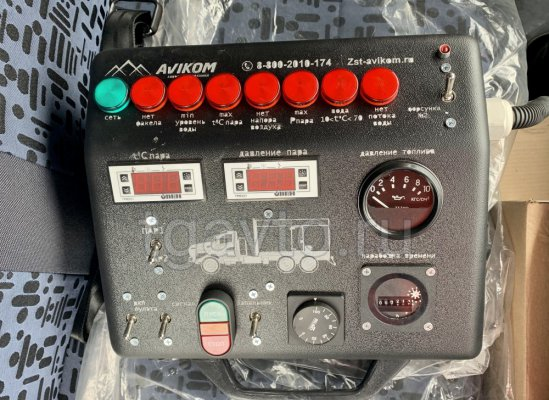 Передвижная паровая установка ППУ 2500/160 Урал 4320 NEXT (насос KOPPER Pumps PI-60) купить от производителя