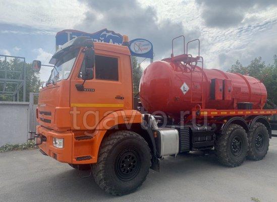 Автоцистерна вакуумная АКН-10 КАМАЗ 43118 купить от производителя