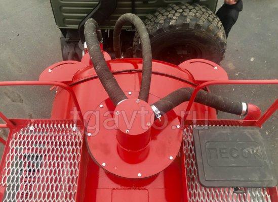 Вакуумная автоцистерна АКН-10 КАМАЗ 43118 КО-505 купить от производителя