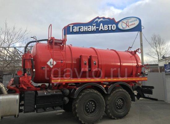 Вакуумная автоцистерна АКН-10 КАМАЗ 43118 ОД купить от производителя