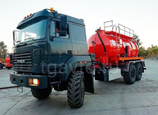 Вакуумная автоцистерна АКН-10 Урал 5557-80Е5 купить от производителя