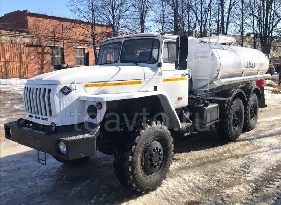 Пищевая автоцистерна АЦПТ-8 Урал 5557 купить от производителя