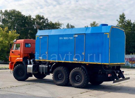 Передвижная паровая установка ППУА-1600/100 КамАЗ 43118 купить от производителя