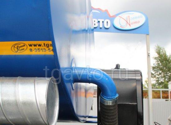 Пищевая автоцистерна АЦПТ-10 Камаз 43118-50 (подогрев емкости) купить от производителя