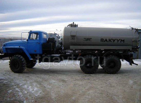 Вакуумная машина МВ-8 Урал 4320-61Е5 купить от производителя