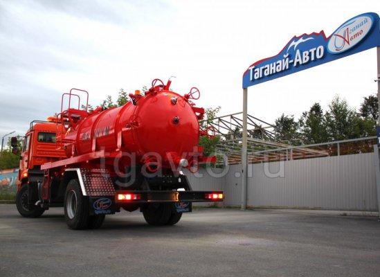 Вакуумная машина МВ-6,5 Камаз 43253-3010-69(G5) купить от производителя