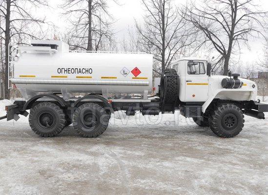 Автотопливозаправщик АТЗ-12 Урал 432007